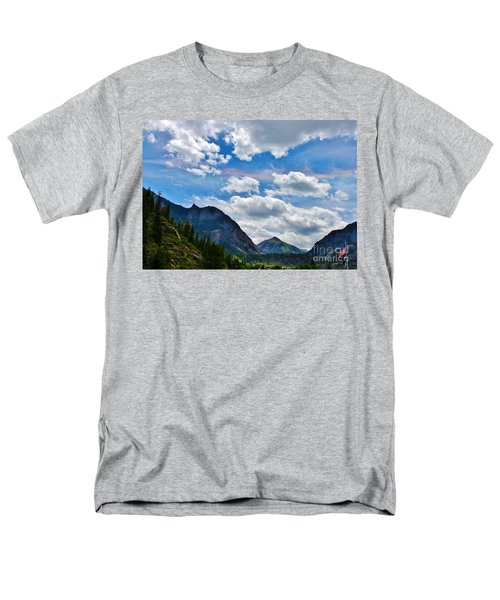 Iridescent Clouds Above Ouray Colorado T-Shirt by Janice Rae Pariza