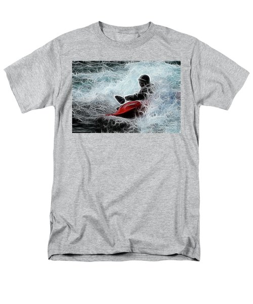 Kayaker 2 T-Shirt by Bob Christopher