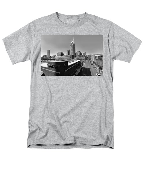 Looking Down On Nashville Men's T-Shirt  (Regular Fit) by Dan Sproul