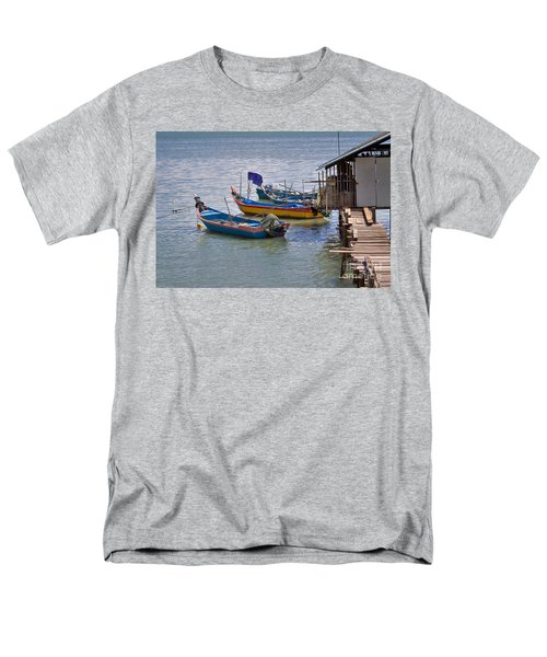 Malaysian Fishing Jetty T-Shirt by Louise Heusinkveld
