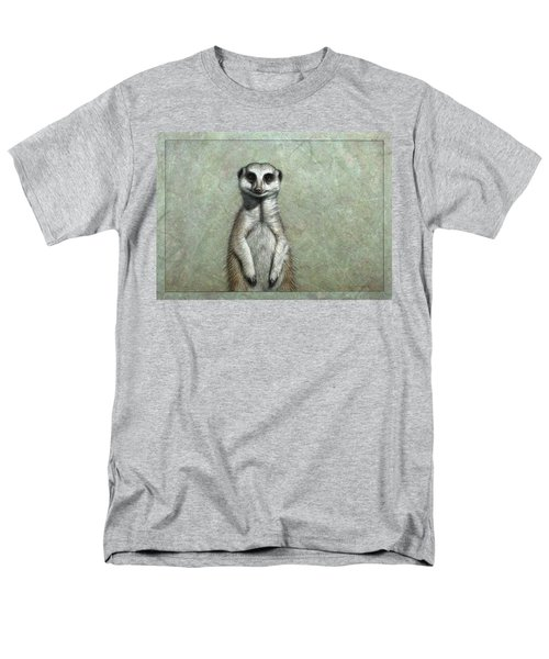 Meerkat Men's T-Shirt  (Regular Fit) by James W Johnson