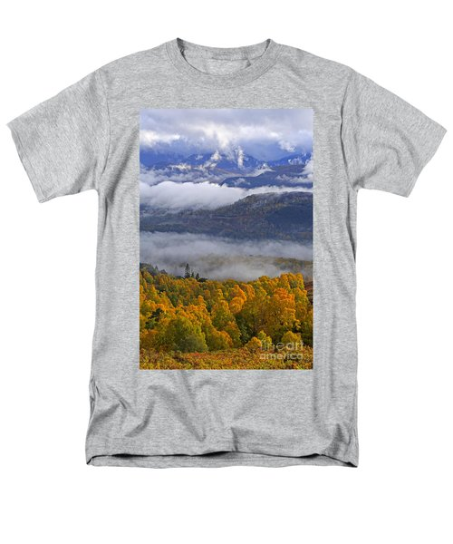 Misty day in the Cairngorms T-Shirt by Louise Heusinkveld