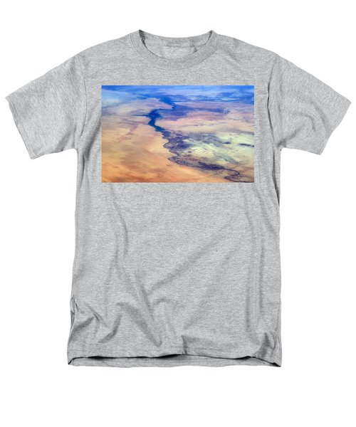 Men's T-Shirt  (Regular Fit) featuring the photograph Nile River From The Iss by Science Source