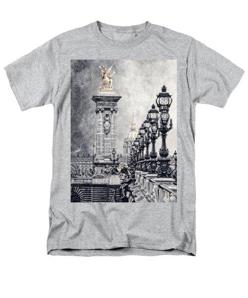 Paris Pompous 2 Men's T-Shirt  (Regular Fit) by Joachim G Pinkawa