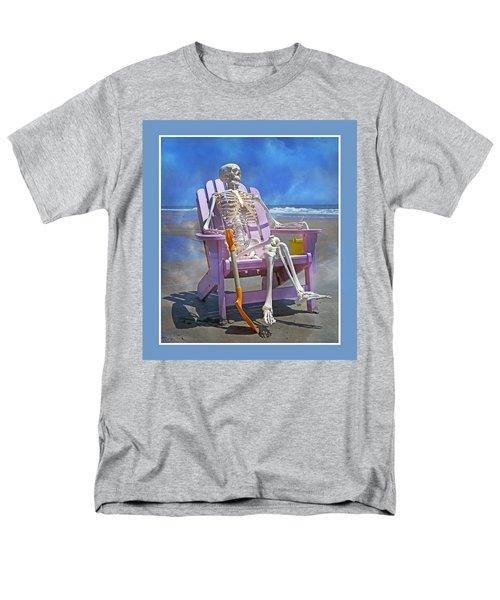 Sam Enjoys the Beach -- Again T-Shirt by Betsy C  Knapp