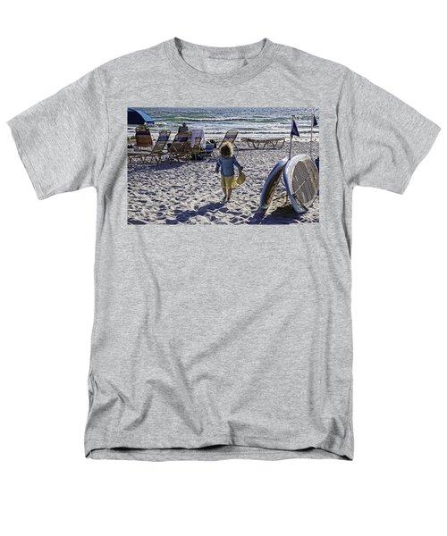 Simpler Times 2 - Miami Beach - Florida T-Shirt by Madeline Ellis