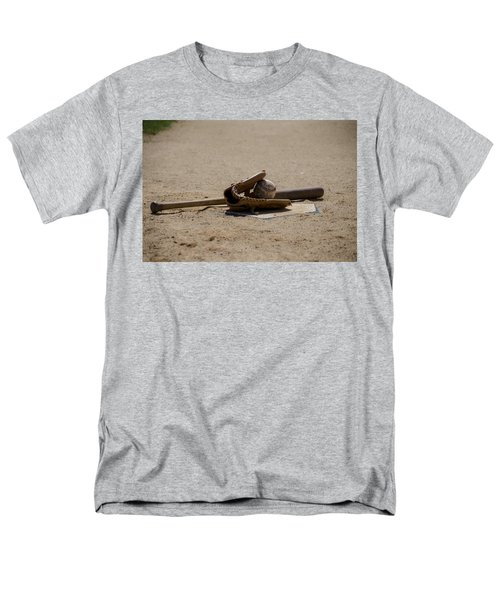 Softball Men's T-Shirt  (Regular Fit) by Bill Cannon