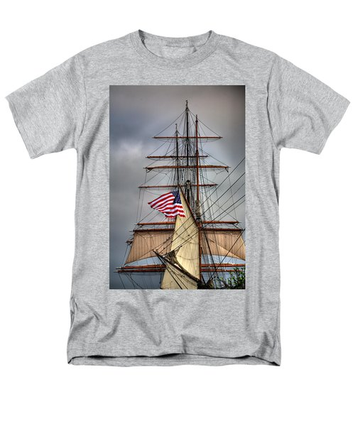Star of India Stars and Stripes T-Shirt by Peter Tellone