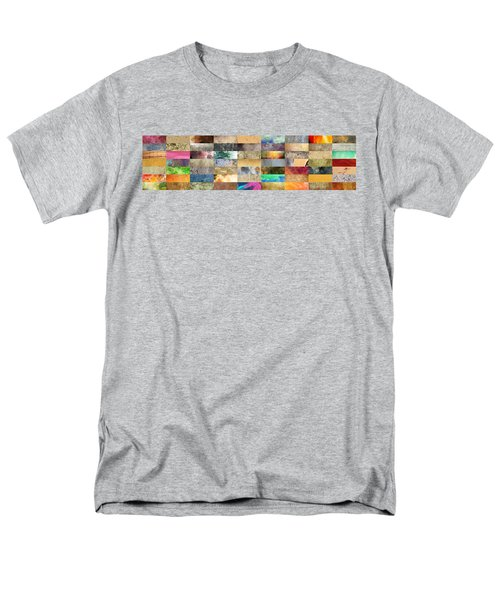 Texture Collage T-Shirt by Taylan Soyturk