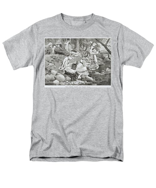 The Fishing Party T-Shirt by Winslow Homer