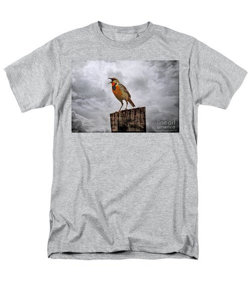The Meadowlark's Song Men's T-Shirt  (Regular Fit) by Elizabeth Winter