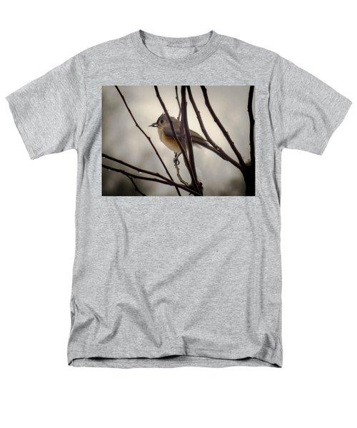 Tufted Titmouse Men's T-Shirt  (Regular Fit) by Karen Wiles