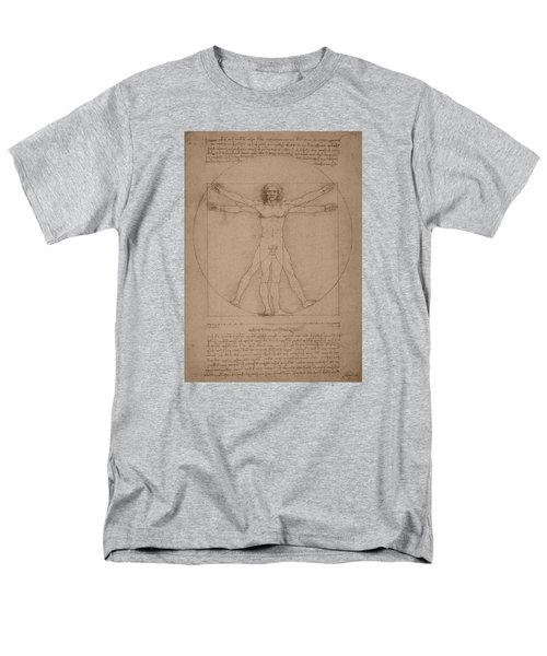 Vitruvian Man  T-Shirt by War Is Hell Store