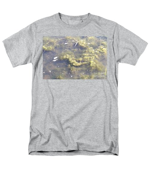 Algae Bloom In A Pond T-Shirt by Photo Researchers, Inc.