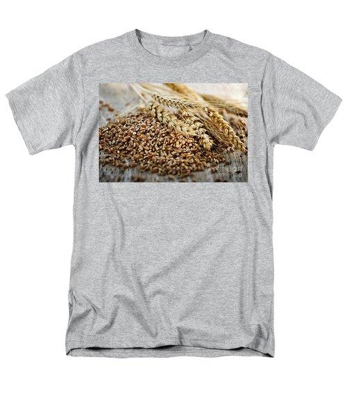 Wheat ears and grain T-Shirt by Elena Elisseeva