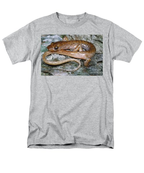 Cave Salamander Men's T-Shirt  (Regular Fit) by Dante Fenolio
