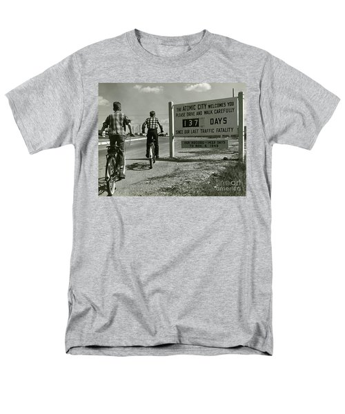 Atomic City Tennessee in the Fifties T-Shirt by Tom Hollyman and Photo Researchers