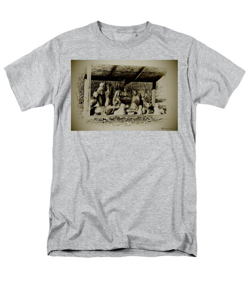 Away in the Manger T-Shirt by Bill Cannon