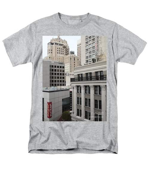 Downtown San Francisco Buildings - 5D19323 T-Shirt by Wingsdomain Art and Photography
