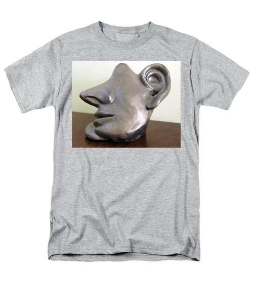 I am all ears head face with ears only large nose no eyes huge ears T-Shirt by Rachel Hershkovitz