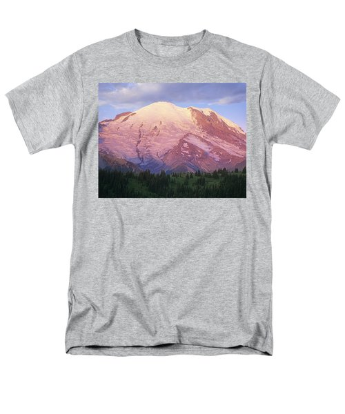 Mount Rainier At Sunrise Mount Rainier T-Shirt by Tim Fitzharris