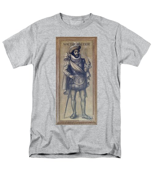 Walter Raleigh, English Explorer T-Shirt by Photo Researchers