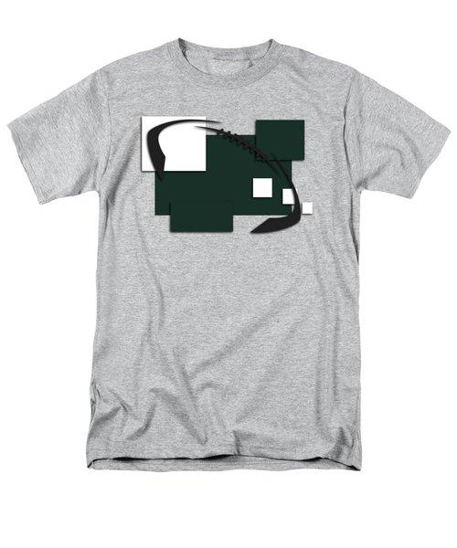 New York Jets Abstract Shirt Men's T-Shirt  (Regular Fit) by Joe Hamilton