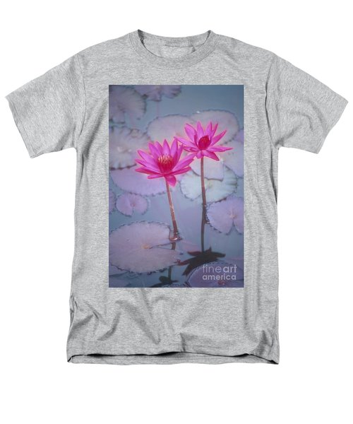 Pink Lily Blossom T-Shirt by Ron Dahlquist - Printscapes