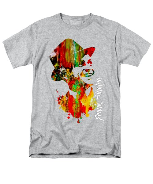 Frank Sinatra Collection Men's T-Shirt  (Regular Fit) by Marvin Blaine