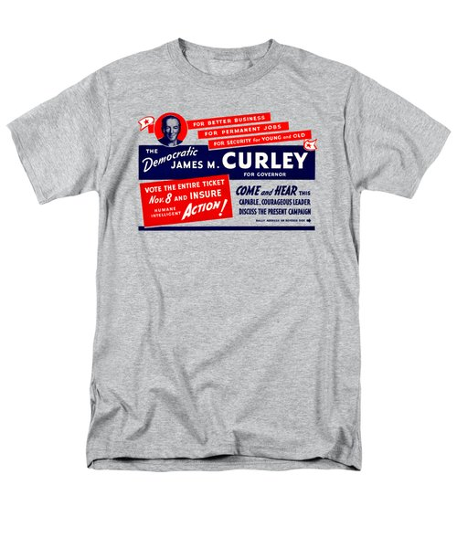 1934 James Michael Curley Men's T-Shirt  (Regular Fit) by Historic Image