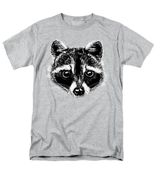 Raccoon Men's T-Shirt  (Regular Fit) by Masha Batkova