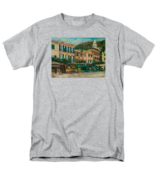 A Day in Portofino T-Shirt by Charlotte Blanchard