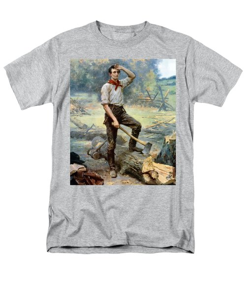 Abe Lincoln The Rail Splitter  T-Shirt by War Is Hell Store