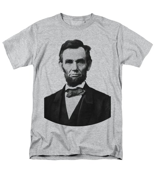 Abraham Lincoln Men's T-Shirt  (Regular Fit) by War Is Hell Store
