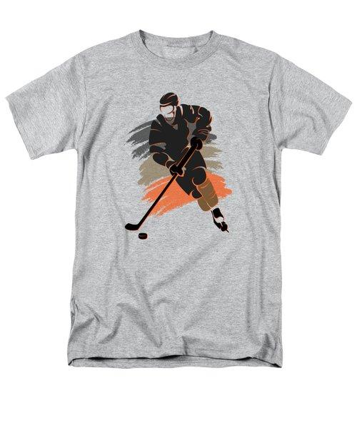 Anaheim Ducks Player Shirt Men's T-Shirt  (Regular Fit) by Joe Hamilton