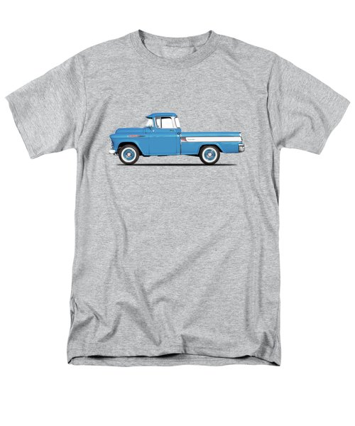 Cameo Pickup 1957 Men's T-Shirt  (Regular Fit) by Mark Rogan