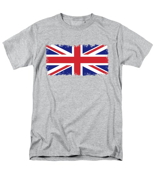 Union Jack Ensign Flag 1x2 Scale Men's T-Shirt  (Regular Fit) by Bruce Stanfield