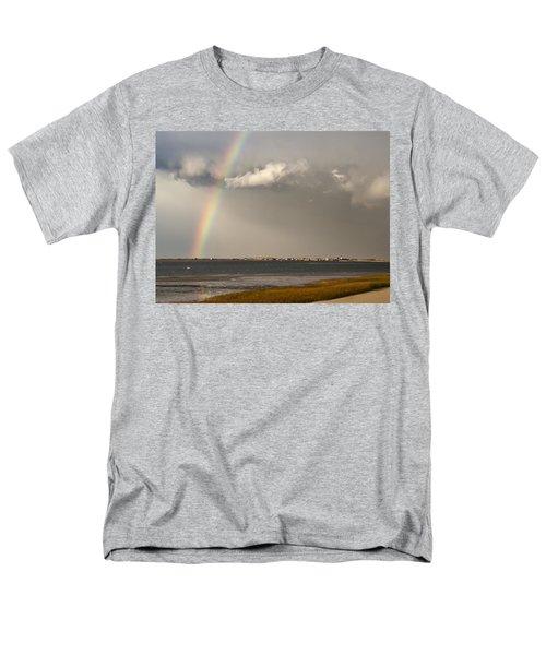 Barnstable Harbor Rainbow T-Shirt by Charles Harden