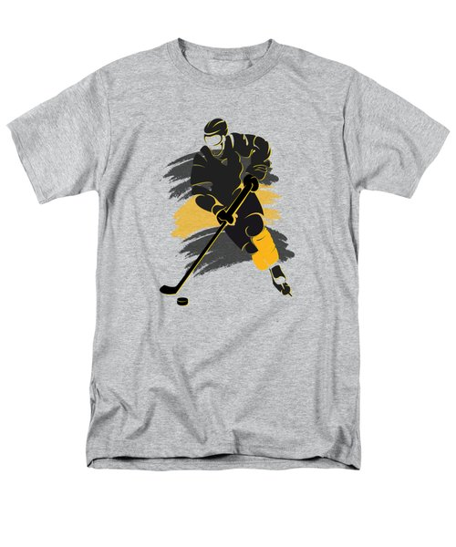 Boston Bruins Player Shirt Men's T-Shirt  (Regular Fit) by Joe Hamilton