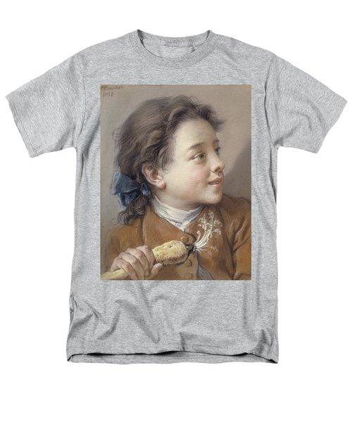Boy With A Carrot, 1738 Men's T-Shirt  (Regular Fit) by Francois Boucher