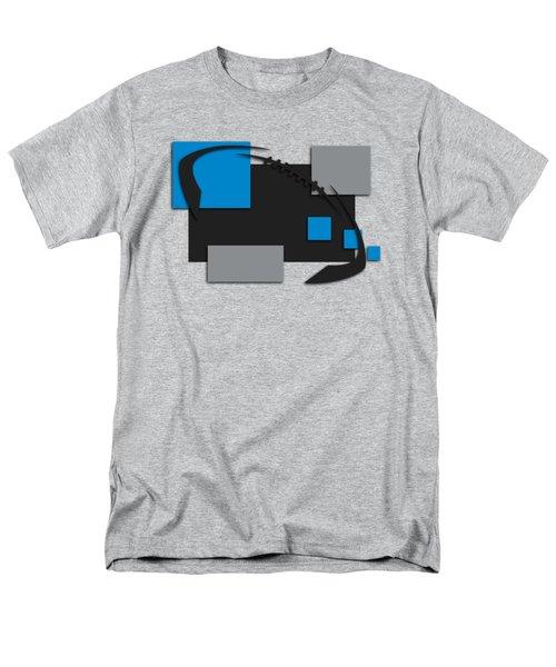 Carolina Panthers Abstract Shirt Men's T-Shirt  (Regular Fit) by Joe Hamilton