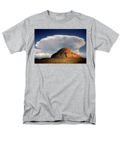 Castle Butte in Big Muddy Valley of Saskatchewan T-Shirt by Mark Duffy