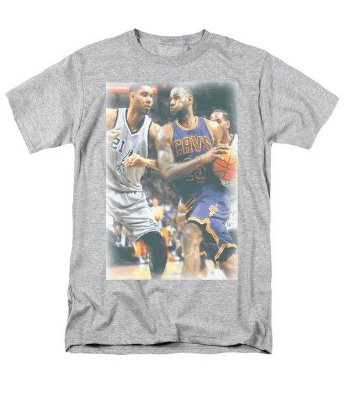 Cleveland Cavaliers Lebron James 4 Men's T-Shirt  (Regular Fit) by Joe Hamilton