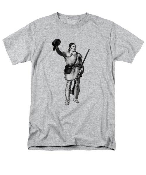 Colonel Davy Crockett Men's T-Shirt  (Regular Fit) by War Is Hell Store
