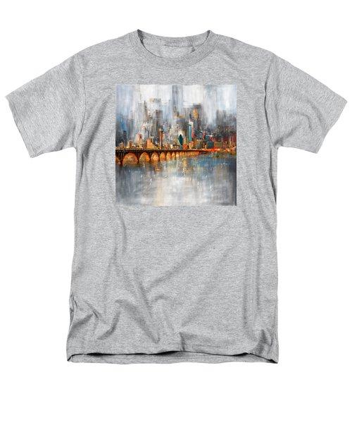 Dallas Skyline 217 1 Men's T-Shirt  (Regular Fit) by Mawra Tahreem
