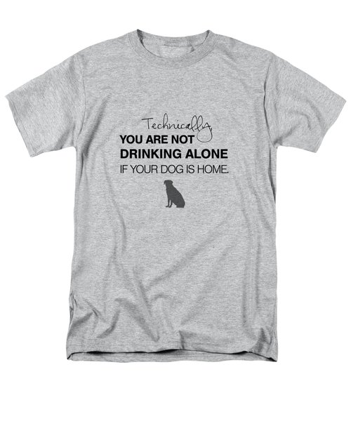 Drinking With Dogs Men's T-Shirt  (Regular Fit) by Nancy Ingersoll