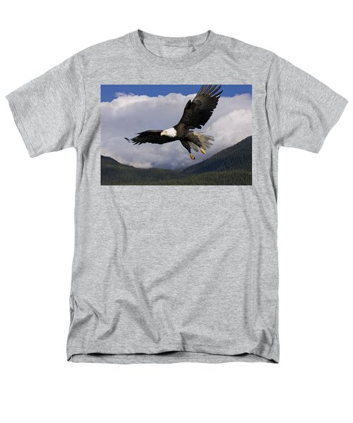 Eagle Flying in Sunlight T-Shirt by John Hyde - Printscapes