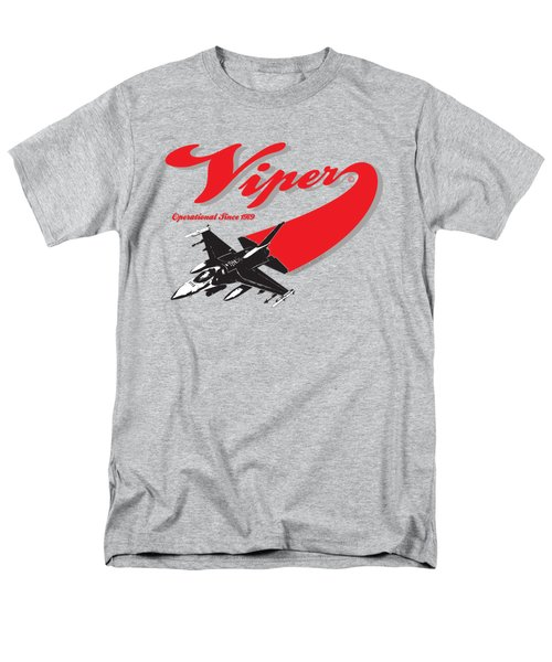 F-16 Swoop Men's T-Shirt  (Regular Fit) by Clear II land Net