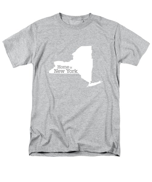 Home Is New York Men's T-Shirt  (Regular Fit) by Bruce Stanfield