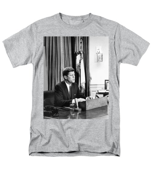 JFK Addresses The Nation  T-Shirt by War Is Hell Store